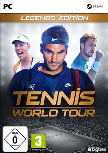 Verpackung von Tennis World Tour Legends Edition [PC]