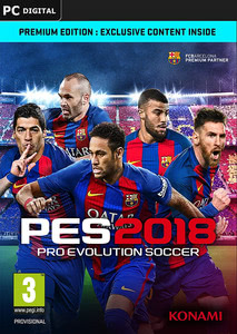 Packaging of Pro Evolution Soccer 2018 [PC]