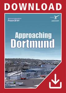 Packaging of Prepar3D V4 Approaching Dortmund [PC]
