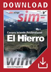 Packaging of Prepar3D V4 Sim-wings - Canary Islands professional - El Hierro [PC]