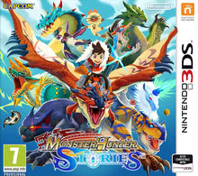 Packaging of Monster Hunter Stories [3DS]
