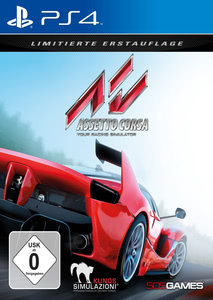 Verpackung von Assetto Corsa Day One Edition [PS4]