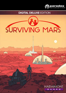 Packaging of Surviving Mars Digital Deluxe Edition [PC / Mac]