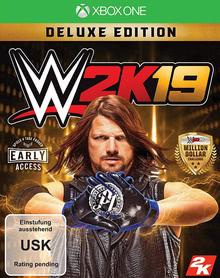 Verpackung von WWE 2K19 Deluxe Edition [Xbox One]