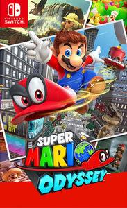 Verpackung von Super Mario Odyssey [Switch]
