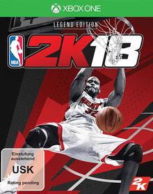Verpackung von NBA 2K18 Legend Edition [Xbox One]