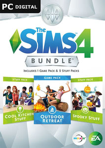 Packaging of The Sims 4 DLC Bundle 2 [PC / Mac]