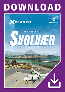 Packaging of X-Plane 11 Airport Svolvaer XP [PC / Mac]