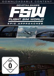 Verpackung von Flight Sim World Epic Approaches Mission Pack [PC]