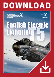 Packaging of FSX English Electric Lightning T5 [PC]