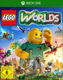 Verpackung von Lego Worlds [Xbox One]