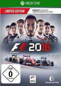 Verpackung von F1 2016 Limited Edition (D1 Edition) [Xbox One]