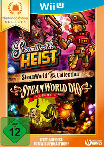 Verpackung von SteamWorld Collection Nintendo eShop Selects [Wii U]