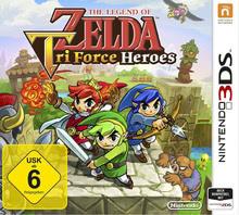 Verpackung von The Legend of Zelda: TriForce Heroes [3DS]