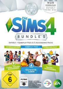 Verpackung von Die Sims 4 DLC Bundle 2 [PC / Mac]