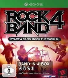 Verpackung von Rock Band 4 Band-in-a-Box Software Bundle (schwarz) [Xbox One]