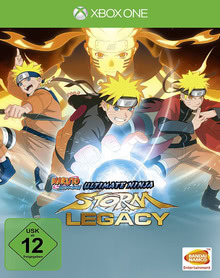 Verpackung von Naruto Shippuden: Ultimate Ninja Storm Legacy [Xbox One]