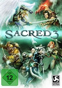 Verpackung von Sacred 3 [PC]