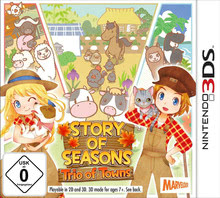 Verpackung von Story of Seasons: Trio of Towns [3DS]