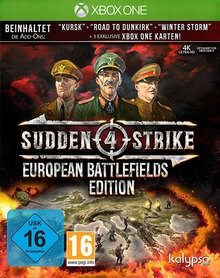 Verpackung von Sudden Strike 4 European Battlefields Edition [Xbox One]