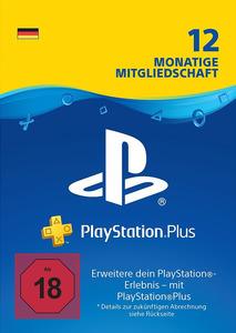 Verpackung von PlayStation Plus Mitgliedschaft 12 Monate / 365 Tage [PS4]