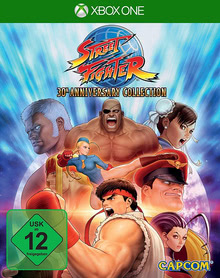 Verpackung von Street Fighter Anniversary Collection [Xbox One]
