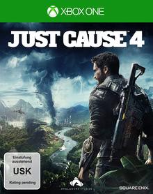 Verpackung von Just Cause 4 [Xbox One]