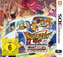 Verpackung von Inazuma Eleven GO Chrono Stones: Flammenwall [3DS]