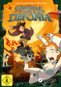 Verpackung von Goodbye Deponia Premium Edition [PC]