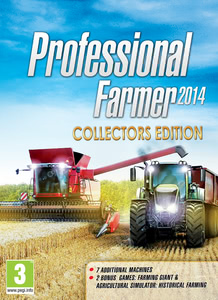 Packaging of Professional Farmer 2014 Collectors Edition [PC]