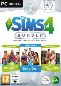 Packaging of The Sims 4 DLC Bundle 3 [Mac / PC]