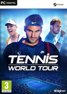 Packaging of Tennis World Tour [PC]