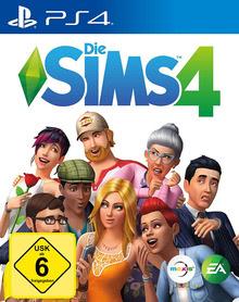 Verpackung von Die Sims 4 [PS4]