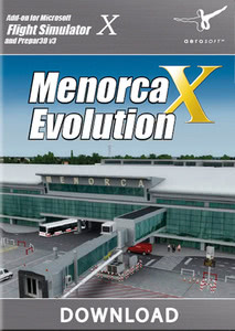 Packaging of FSX Menorca X Evolution [PC]