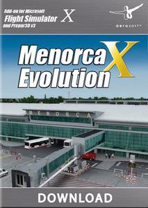 Verpackung von FSX Menorca X Evolution [PC]