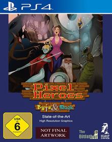 Verpackung von Pixel Heroes: Byte & Magic [PS4]