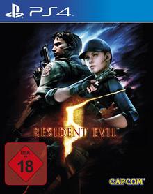 Verpackung von Resident Evil 5 [PS4]