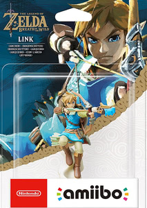 Verpackung von amiibo - The Legend of Zelda Collection Link Bogenschütze (Breath of the Wild) [Wii U / 3DS / Switch]