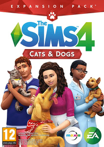 Packaging of The Sims 4 - Add On Cats & Dogs [PC / Mac]