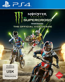 Verpackung von Monster Energy Supercross: The Official Videogame [PS4]