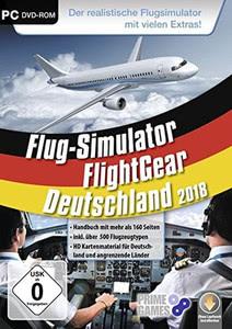 Verpackung von Flight Gear - Flugsimulator 2018 [PC]