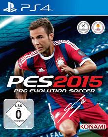 Verpackung von Pro Evolution Soccer 2015 [PS4]