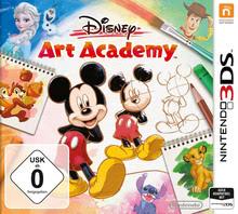 Verpackung von Disney Art Academy [3DS]