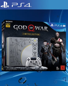 Verpackung von Sony PlayStation 4 Pro 1TB Limited Edition + God of War [PS4]
