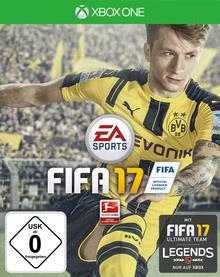 Verpackung von Fifa 17 [Xbox One]