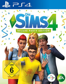 Verpackung von Die Sims 4 Deluxe Party Edition [PS4]