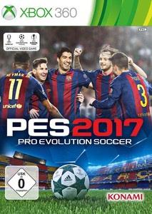 Verpackung von Pro Evolution Soccer 2017 [Xbox 360]