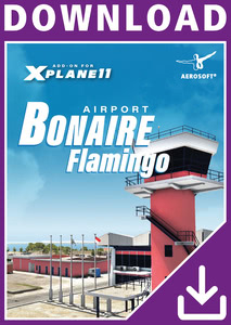Packaging of FSX Bonaire Flamingo Airport X [PC]