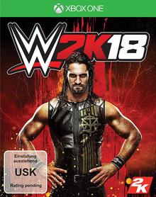 Verpackung von WWE 2K18 Day One Edition [Xbox One]