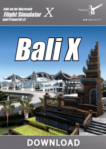 Packaging of FSX Bali X [PC]